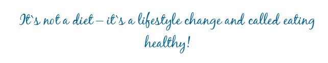 Gewicht reduzieren ohne Hunger- ändere deinen Lebensstil!
