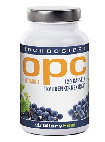 Gloryfeel – OPC Traubenkernextrakt + Vitamin C