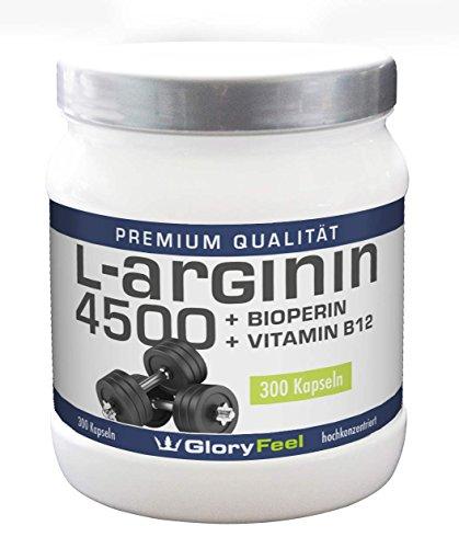 Gloryfeel – L Arginin + Bioperin + Vitamin B12